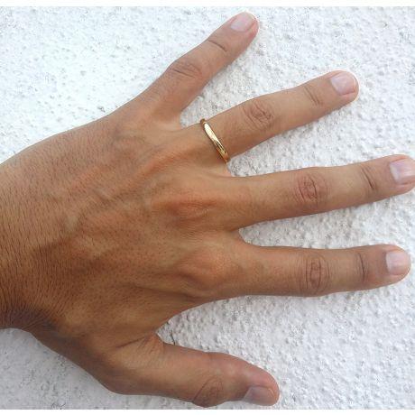 Fede Uomo - Oro giallo 2.80gr