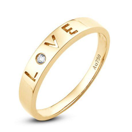 Fedi matrimonio, Fedine -  Oro giallo 6.31gr, Diamanti 0.043ct