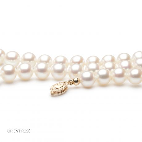 Collana perle acqua dolce bianche - 6.5/7mm, AAA
