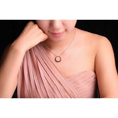 Anello in oro rosa 18ct - Rubini con incastonatura a binari