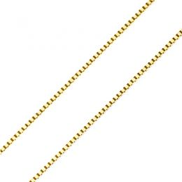 Catenina oro giallo 18ct - 40 cm - 105e