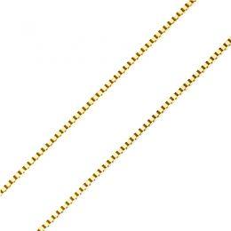 Catenina oro bianco 18ct - 45 cm - 110e