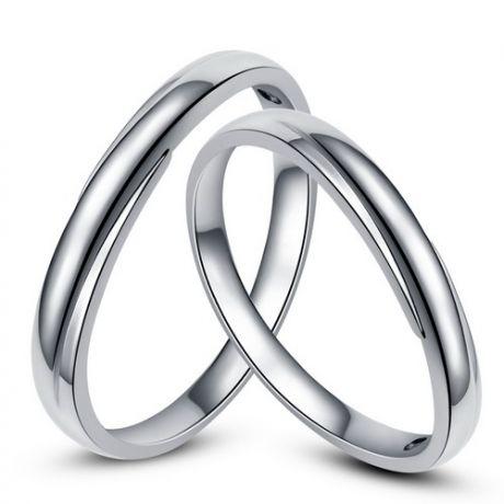 Fedi matrimonio, Fedine -  Oro bianco 5.30gr, Diamanti 0.015ct