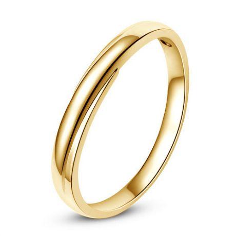 Fede Donna - Oro giallo 2.20gr - Diamante 0.008ct