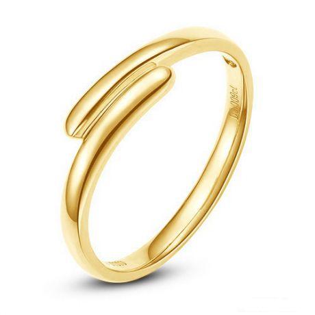Fede Uomo - Oro giallo 4.21gr - Diamante 0.007ct
