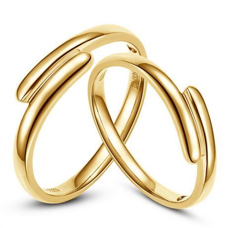 Fedi matrimonio, Fedine -  Oro giallo 7.22gr, Diamanti 0.016ct