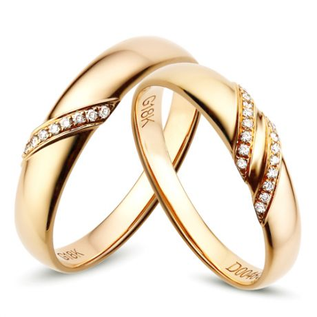 Fedine diamantate - Anelli cerimonia - Fedi nuziali