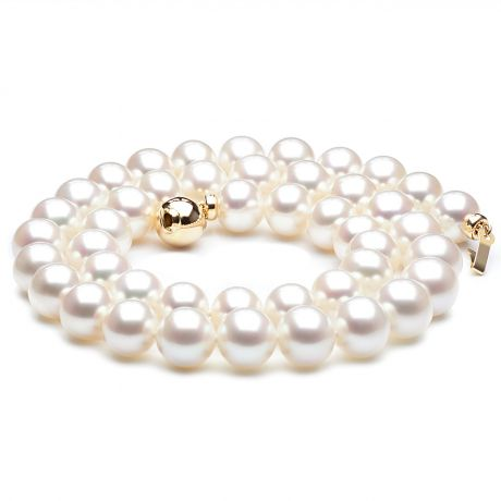 Collana perle acqua dolce bianche - 8.5/9.5mm, AAA