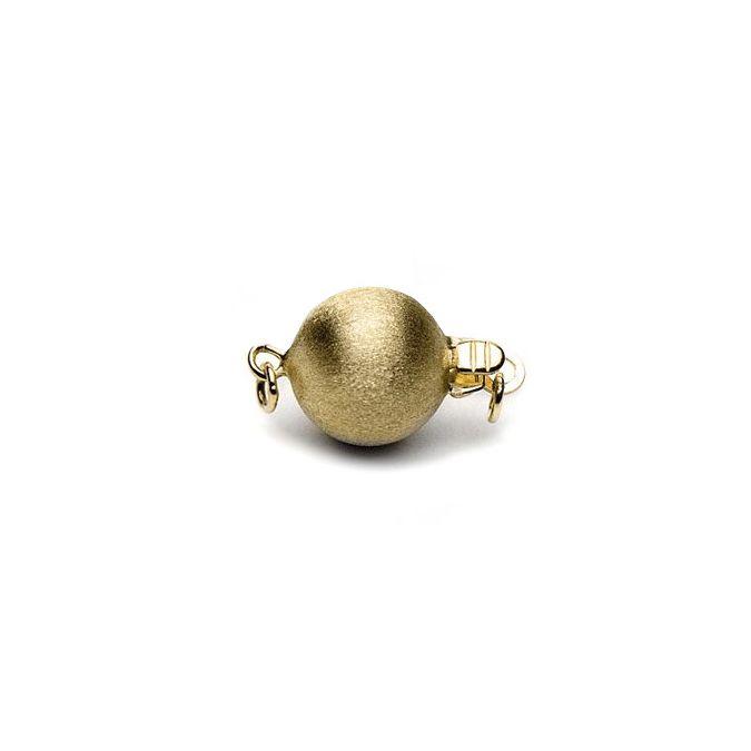 Chiusura Stardust. Palla lavorata 7mm - Oro giallo 18 carati. 30e