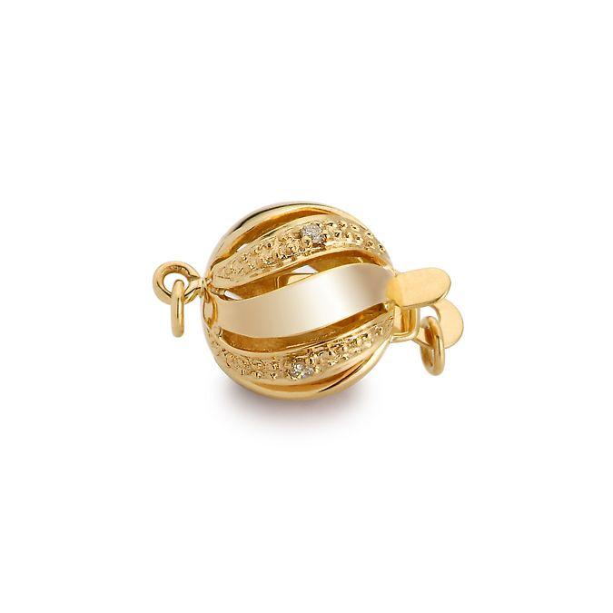 Chiusura Melograno. Palla 11mm - Diamanti - Oro giallo 18 carati. 250e